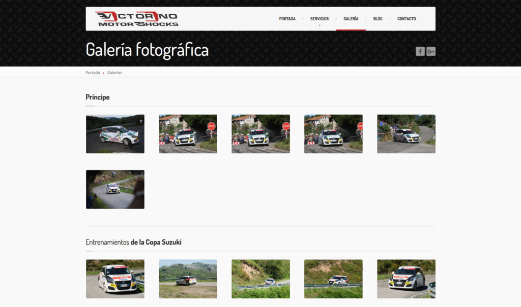 Victorino Motor Shocks - Vista Web 4